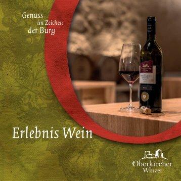 Erlebnis Wein - Weinproben in der Oberkircher Winzer eG
