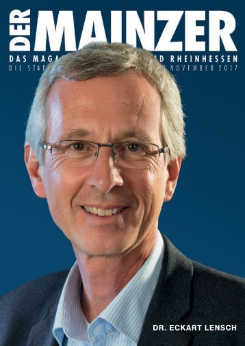 DER MAINZER - Das Magazin für Mainz und Rheinhessen - Nr. 326