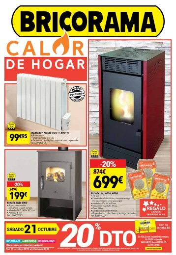 Catálogo BRICORAMA CALOR DE HOGAR hasta 4 de Febrero 2018