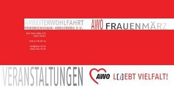 AWOFRAUENMÄRZ - AWO Landesverband Berlin eV