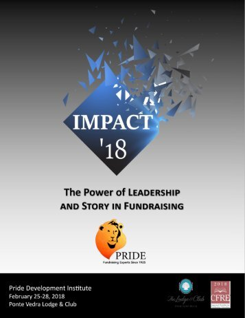 IMPACT:  The Power of Leadership and Story in Fundraising