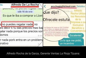 Alfredo Rocha La Rioja Tijuana Gig Desarrollos Incongruencia Incompetente con Violencia Laboral Impone la Autoridad que No Tiene