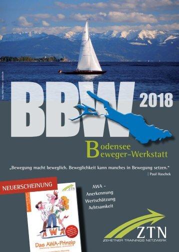 Bodensee Beweger-Werkstatt 2018