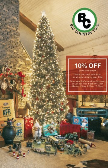 Big Country Farm Toys Christmas Catalog