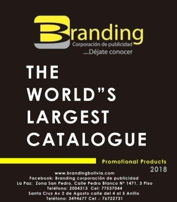 CATALOGO BRANDING 2018
