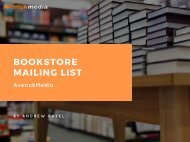 Bookstore Mailing List