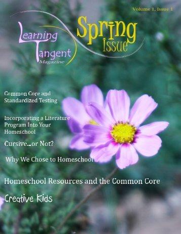 Spring 2014 | A New Homeschooling Magazine