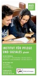 INSTITUT FÜR PFLEGE  UND SOZIALES gGmbH