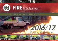 2017 - TTi Product Catalogue - TransFIRE