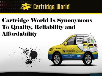 Inkjet Cartridges & Refills