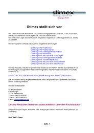 Stimex Katalog