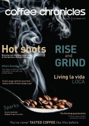 Coffee Chronicles - Issue 2 - October 2017