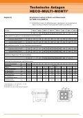 Technische Anlagen HECO-MULTI-MONTI® Inhaltsverzeichnis - Seite 6