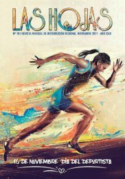 Revista Las Hojas Edición Noviembre 2017