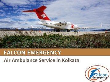 Air Ambulance Service in Kolkata and Guwahati