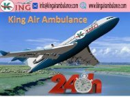 Low Cost Fare Air Ambulance Service in Ranchi- King Air Ambulance