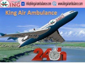 Low Cost Fare Air Ambulance Service in Ranchi- King Air Ambulance