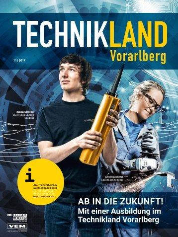 TECHNIKLAND Vorarlberg 11/2017