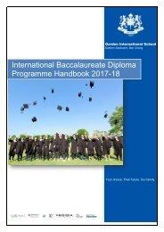 GIS IB Handbook 2017-18
