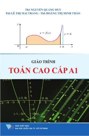 Giáo trình toán cao cấp A1