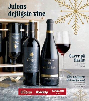 Julekatalog Superbrugsen Hornbæk - Vin
