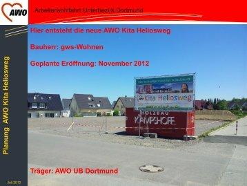 Planung A WO Kita Heliosw eg - AWO Dortmund