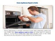 Home Appliances Repair in Noida