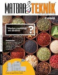 Matbaa Teknik Dergisi Kasım 2017 Sayısı