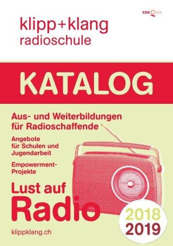 Katalog 2018 – Radioschule klipp+klang