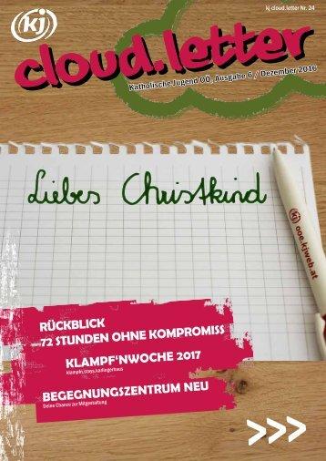 kj cloud.letter Ausgabe/ Dezember 2016