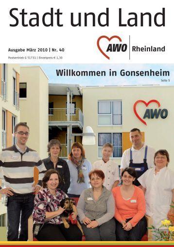 Ausgabe März 2010   Nr. 40 - Die Betreuungsvereine der ...