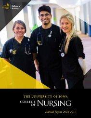 UIowa College of Nursing Annual Report 2016-2017
