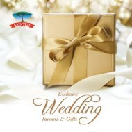 Raintree Wedding Favours Catalog 2018