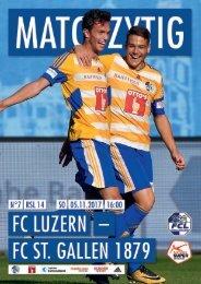 FC LUZERN MATCHZYTIG N°7 1718 (RSL 14)