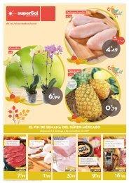 Folleto Ofertas superSol supermercados del 1 al 7 de Noviembre 2017