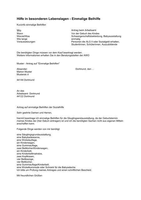 Hilfe In Besonderen Lebenslagen Awo Dortmund