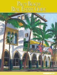 November 2017 Palm Beach Real Estate Guide