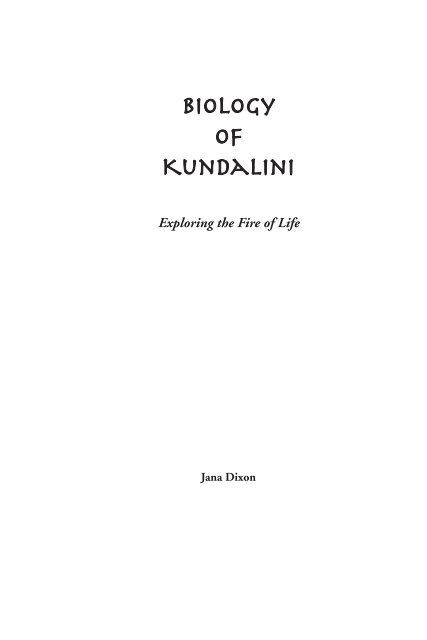 Biology-of-Kundalini