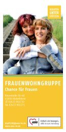 Flyer Frauenwohngruppe (1.1 mb)