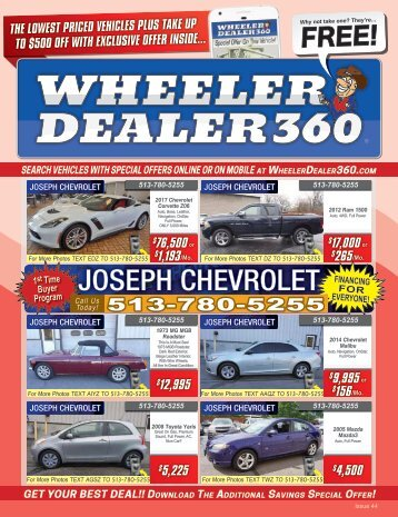 Wheeler Dealer 360 Issue 44, 2017