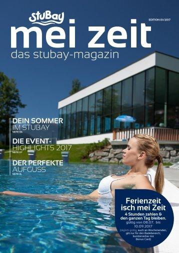 """StuBay_News_""""MeiZeit""""– (Sommer 2017)"""