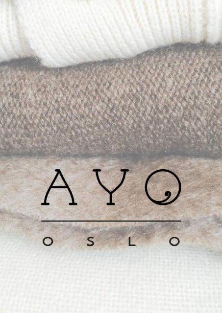 Ayo Oslo Lookbook