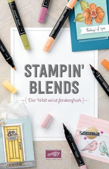 Stampin' Blends 2017 Broschüre in Deutsch