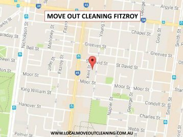 Move Out Cleaning Fitzroy