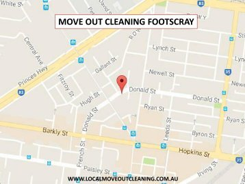 Move Out Cleaning Footscray
