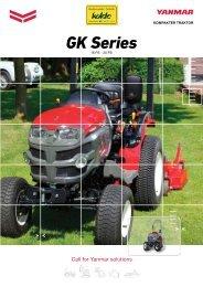 Yanmar Traktor GK 160 / GK 200 Prospekt