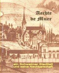 Festbuch Aechte de Muer wzl