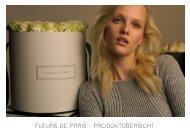 Fleur de Paris Produktübersicht mit Preisen