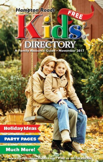 Hampton Roads Kids' Directory: November 2017