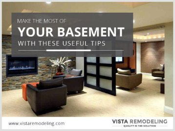 Useful Tips for Basement Remodeling in Denver